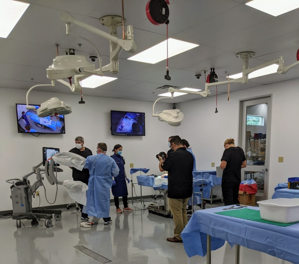 Watershed Idea Foundry has a cadaver lab for testing medical device prototypes. Photo credit: Startups San Antonio.
