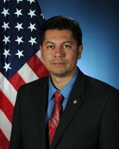 Christian De La Rosa is the deputy director of the 502d Civil Engineer Group, courtesy photo.