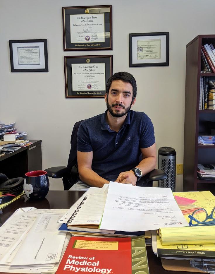 Ramon Coronado Schmilinski is co-founder and executive director of Crown Scientific. Photo credit: Startups San Antonio.