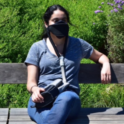 JustAir Launches Portable Powered Face Mask To Protect Against COVID-19