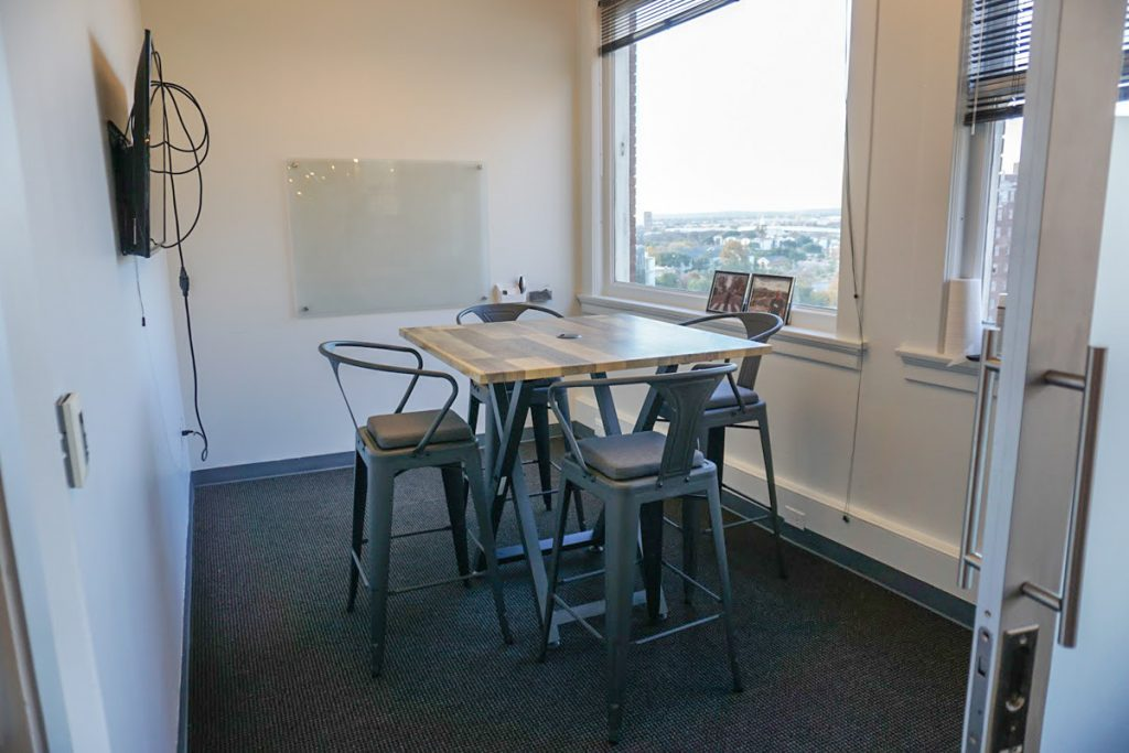 Geekdom has smaller private spaces for members, courtesy photo
