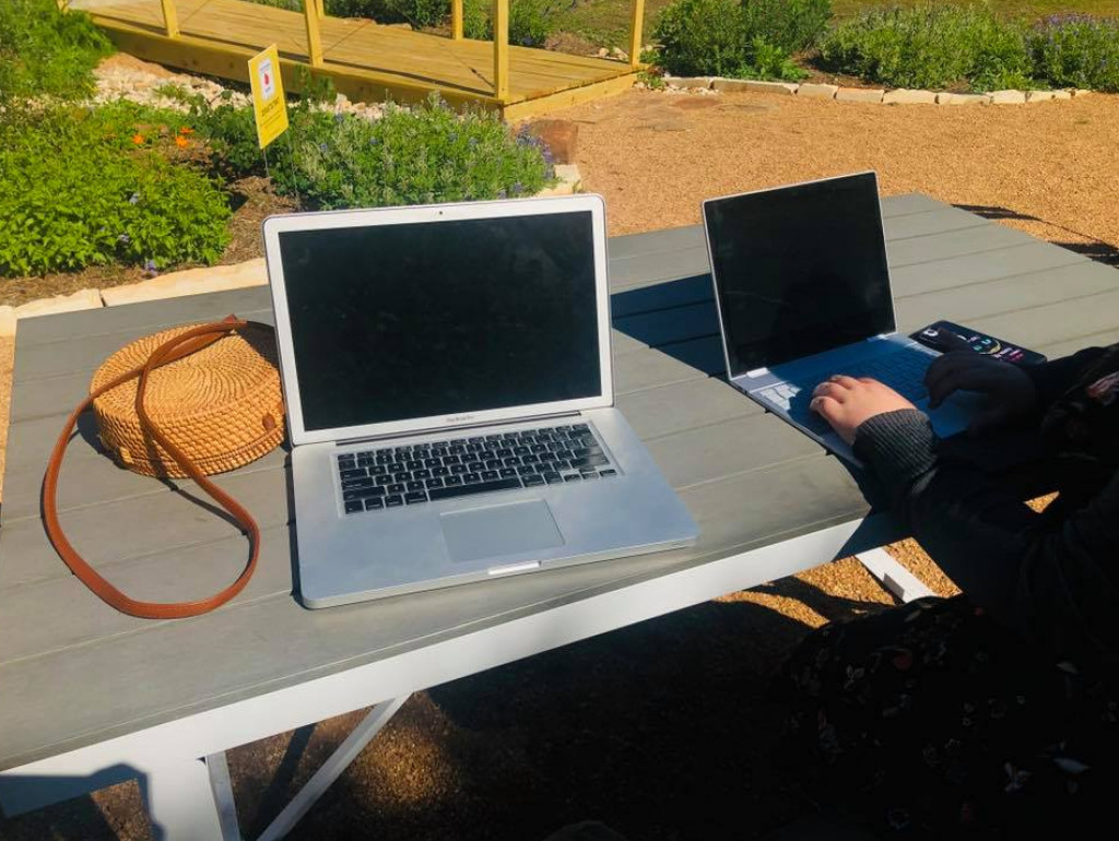 Key CoWorking also has an half-acre outdoor space with WiFi, courtesy photo