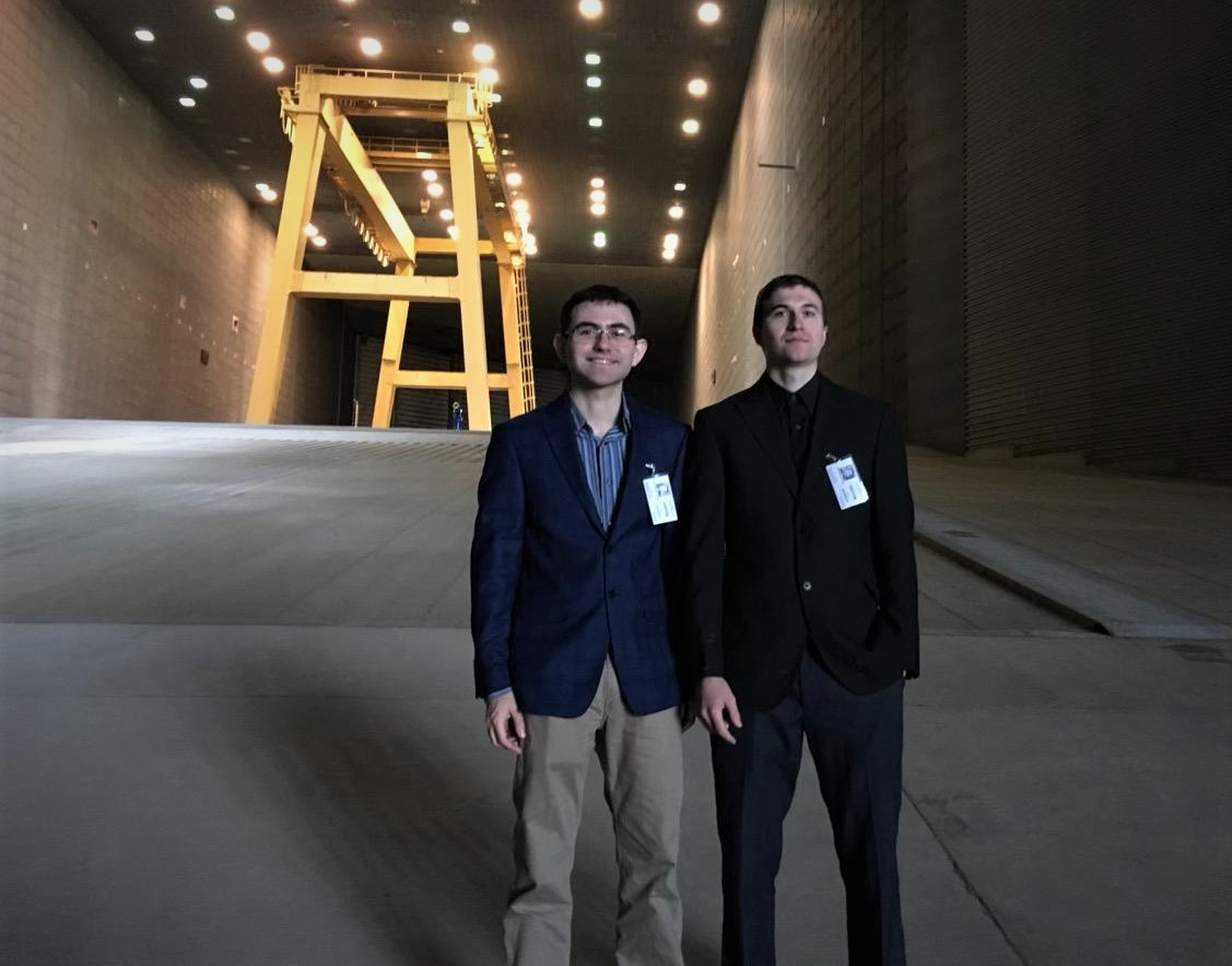 David Gonzales (left) and Kyle Johnson founded AVA Propulsion. Courtesy photo.