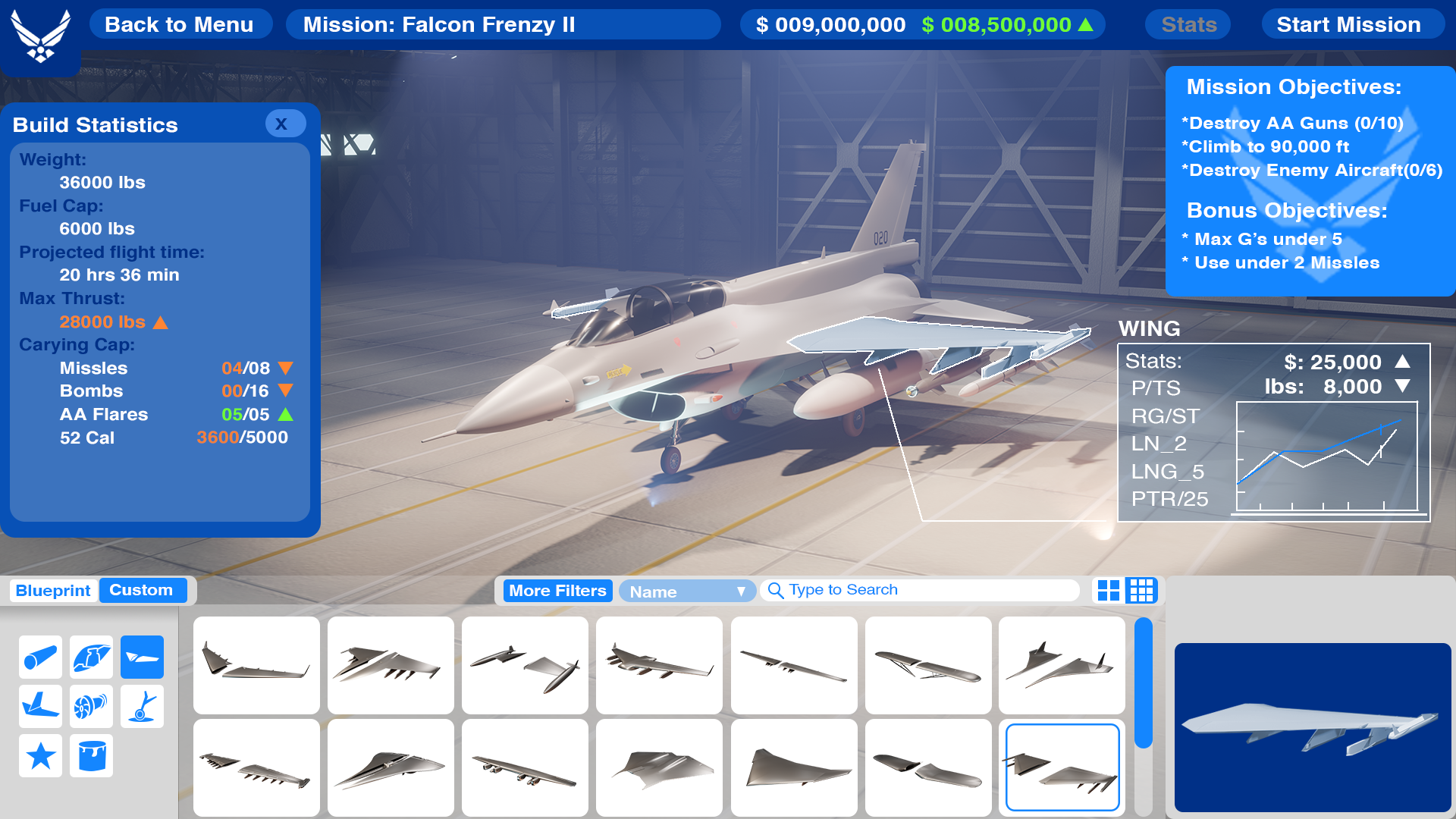 The IMG Studio is developing a video game that the Air Force can use to recruit and train its service members. Courtesy screenshot image.