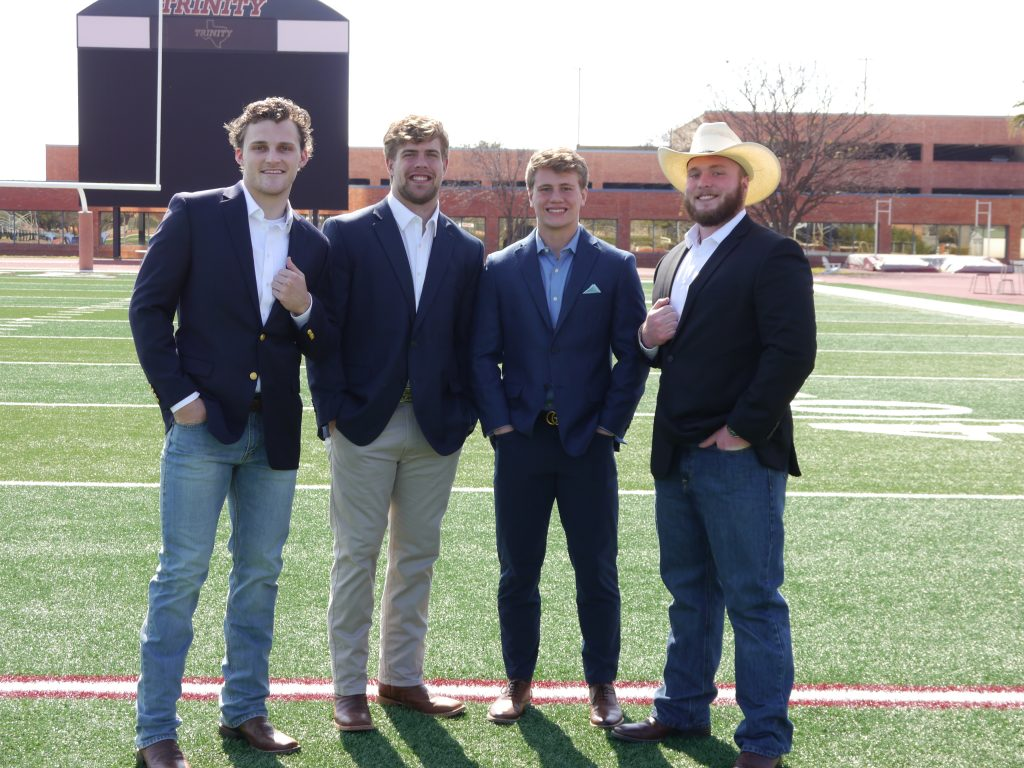 The Wakescoot team includes (from left) Cannon Starcke, Carson Byrd, Ryan Arnold, and AJ Townsend, courtesy photo