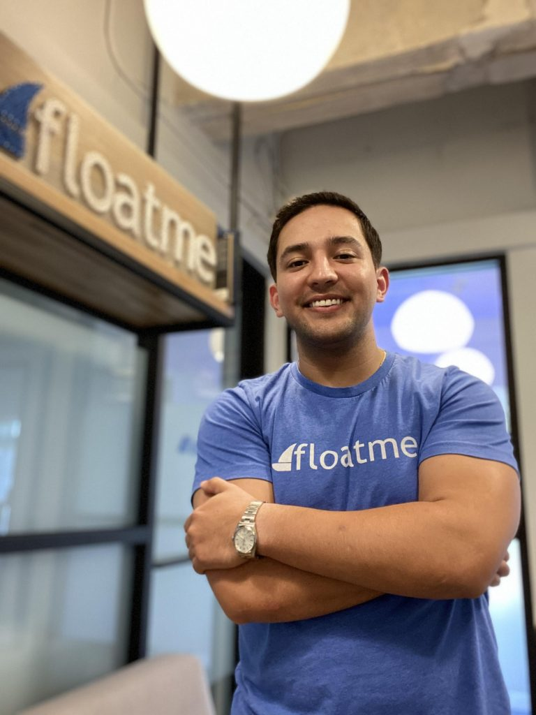 Josh Sanchez is co-founder and CEO of financial tech company FloatMe, courtesy photo