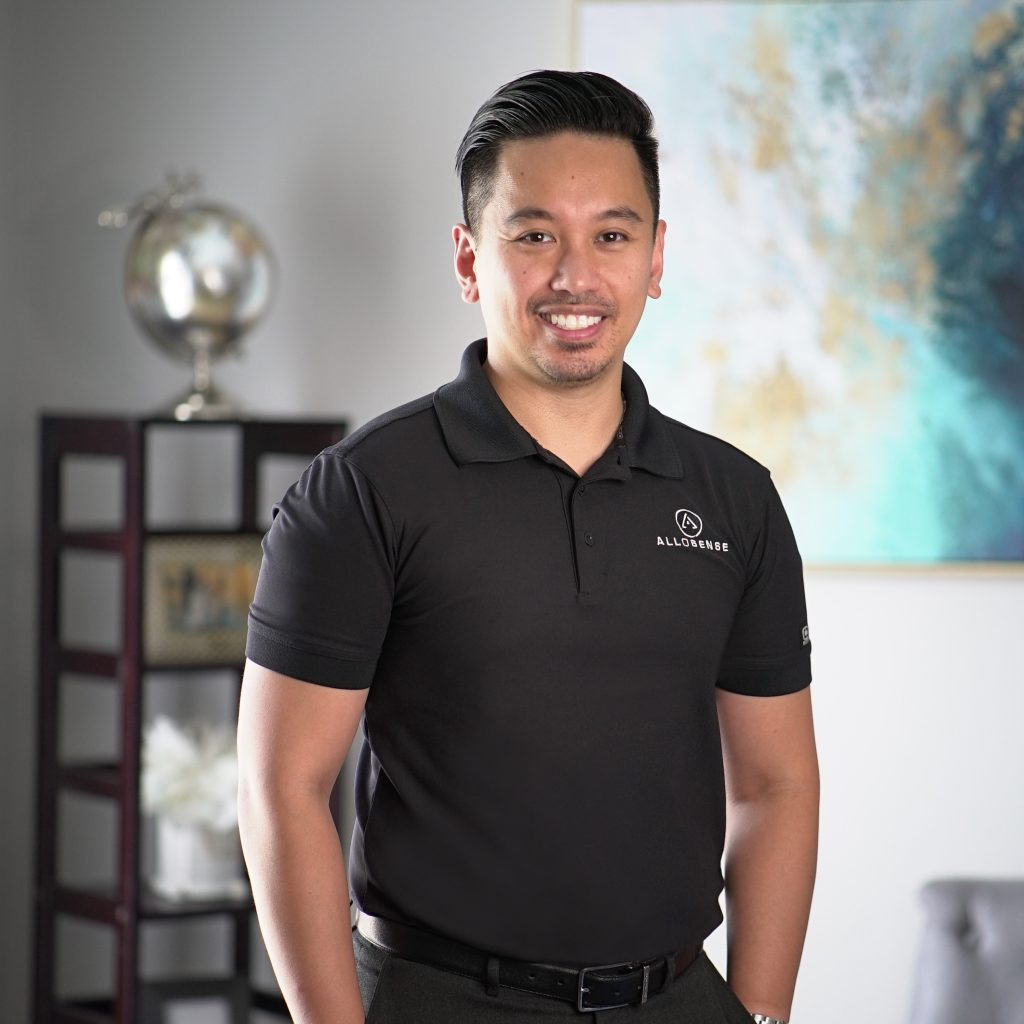 Roman Sandoval is fonder and CEO of Allosense, courtesy photo