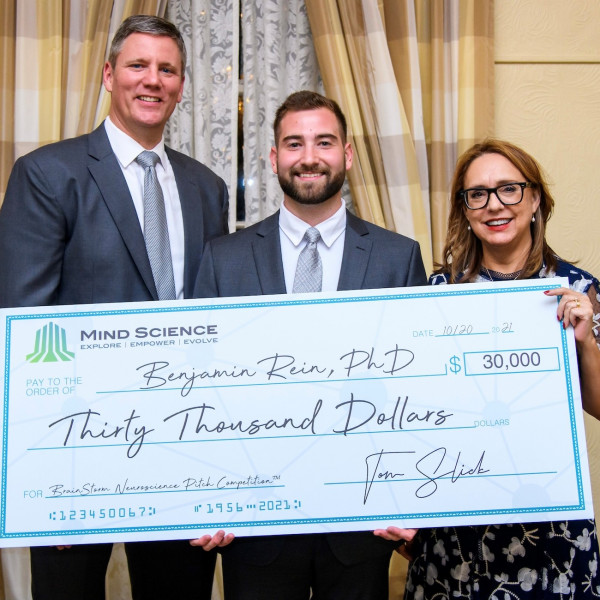 Mind Science Awards $30,000 to BrainStorm Pitch Winner from Stanford Univ.